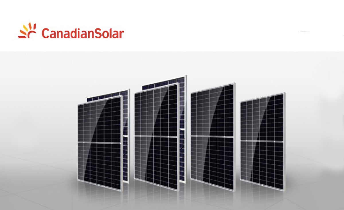 Canadian Solar main page