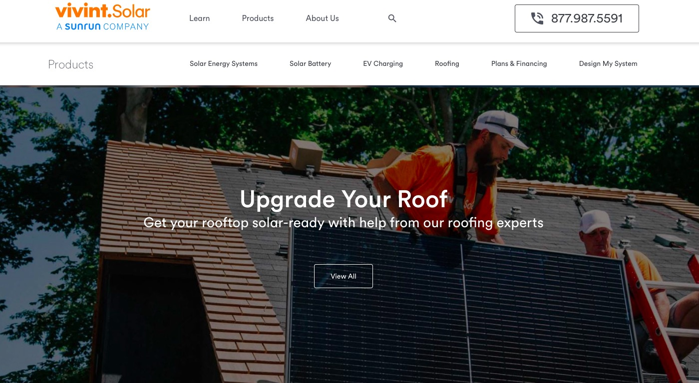Vivint Solar upgrade your roof