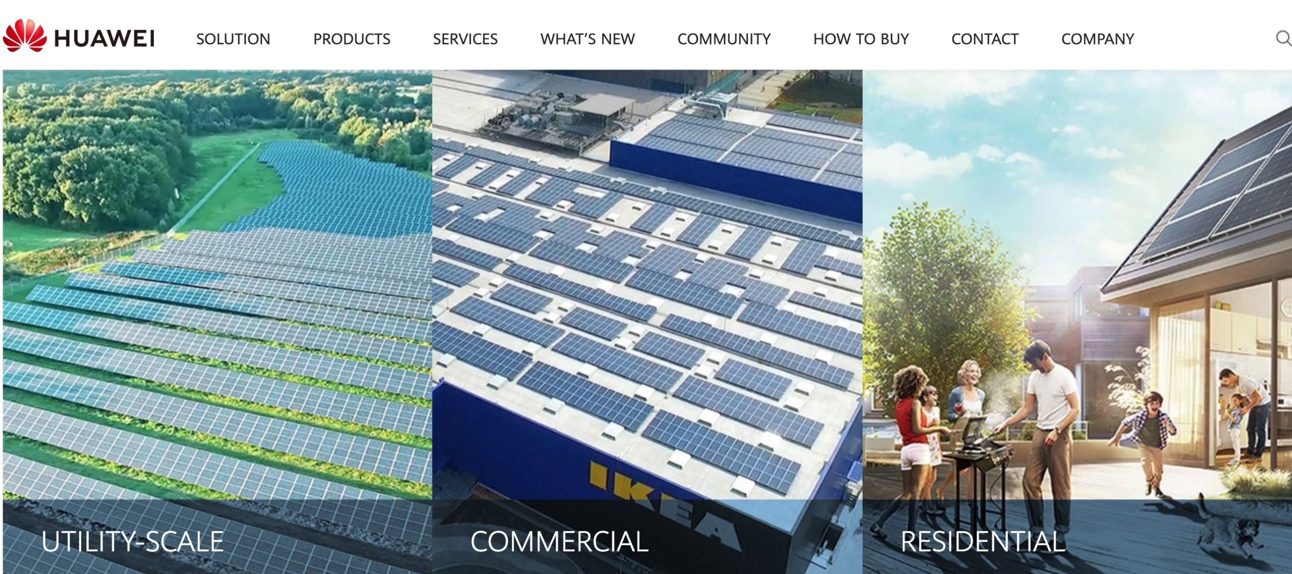 Huawei Solar system types