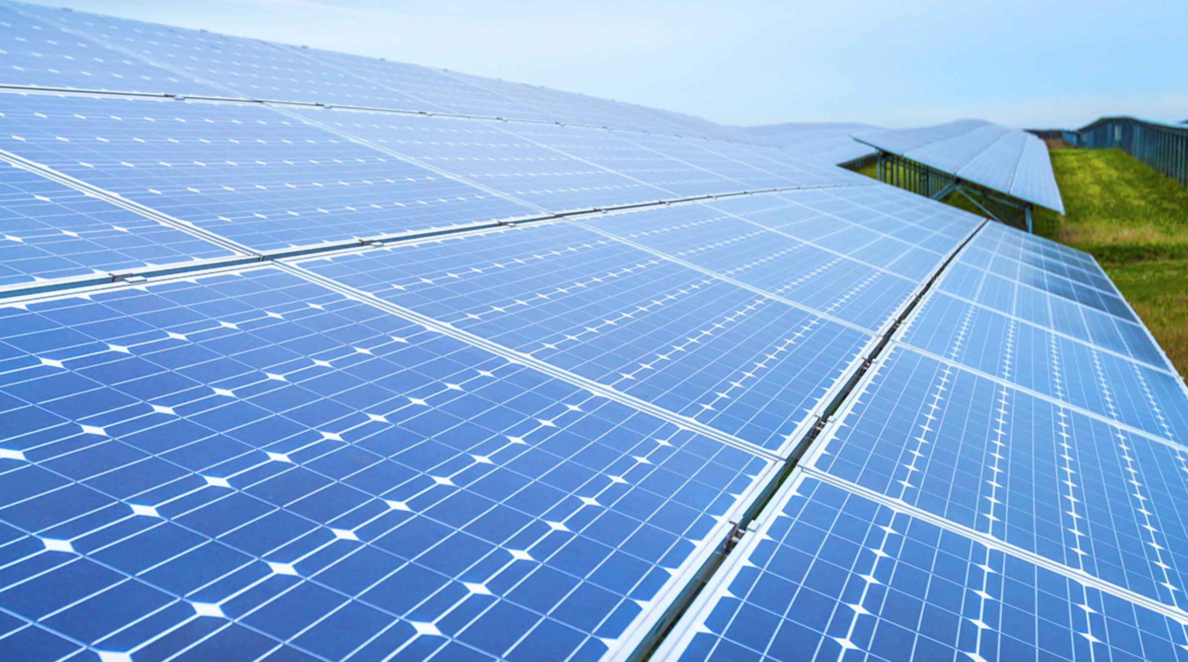 Solar Modules Panel